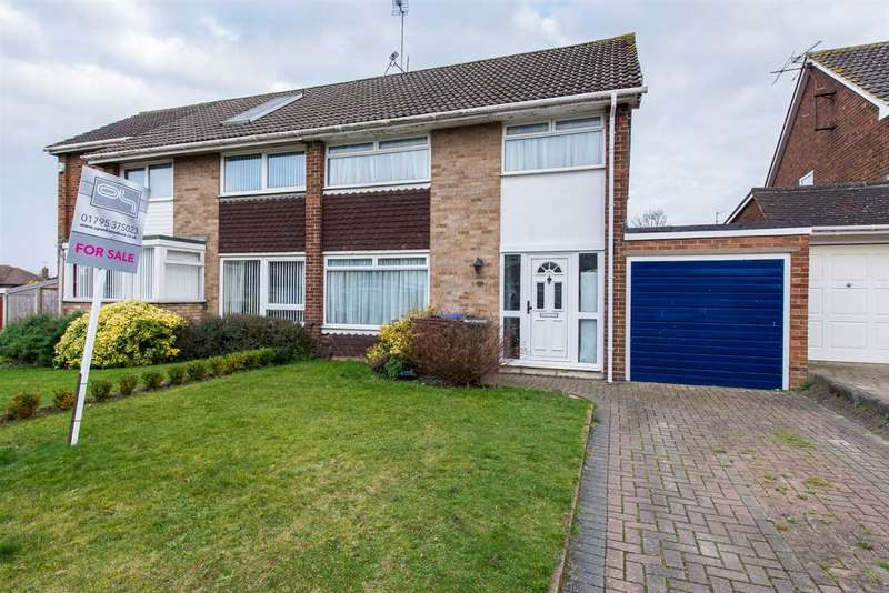 3 Bedrooms Semi Detached House for sale in Northwood Drive, Sittingbourne