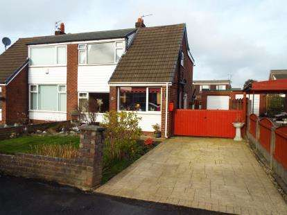 4 Bedrooms Semi Detached House for sale in Meadowside Drive, Hoghton, Preston, Lancashire