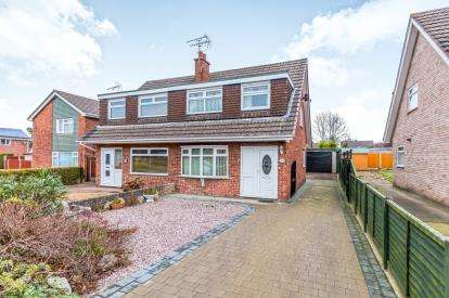 3 Bedrooms Semi Detached House for sale in Bowness Road, Wistaston, Crewe, Cheshire