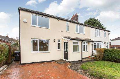 4 Bedrooms Semi Detached House for sale in Birtles Road, Orford, Warrington, Cheshire