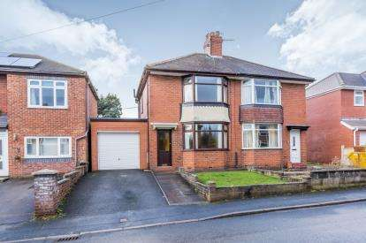 2 Bedrooms Semi Detached House for sale in Collis Avenue, Basford, Stoke-On-Trent, Staffs