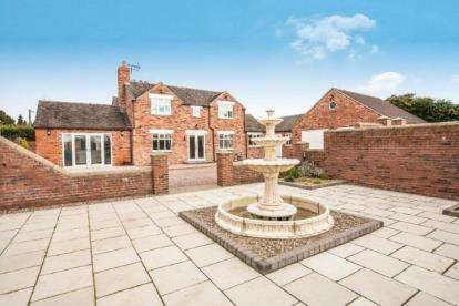 5 Bedrooms Detached House for sale in Whetstone Edge Farm, Wall Hill, Cheshire