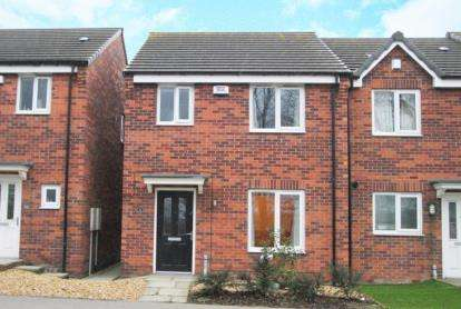 3 Bedrooms Town House for sale in Furnace Hill Road, Clay Cross, Chesterfield, Derbyshire