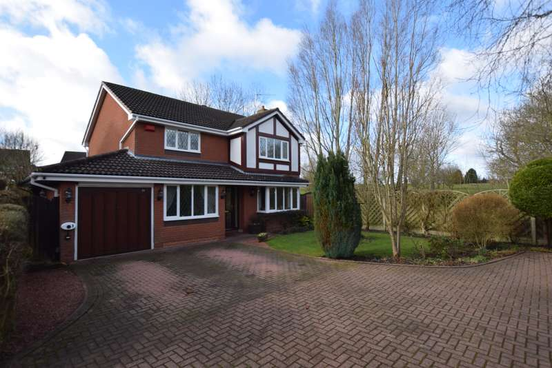 4 Bedrooms Detached House for sale in Hollington Way, Shirley, Solihull, B90 4YD