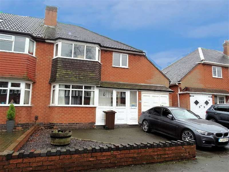 3 Bedrooms Semi Detached House for sale in Ulverley Green Road, Solihull, B92 8AJ