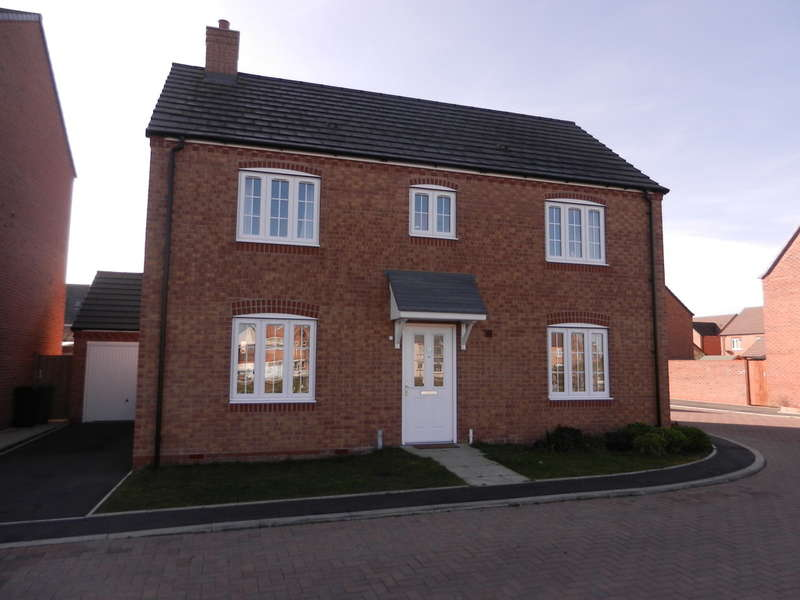 4 Bedrooms Detached House for sale in Buttercup Close, Evesham