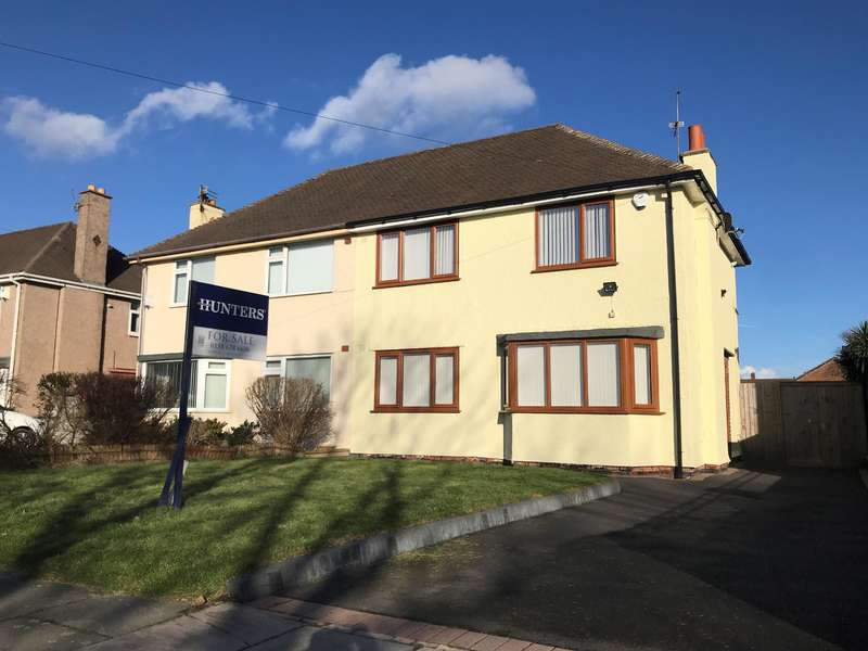 3 Bedrooms Semi Detached House for sale in Castleway North, Wirral, CH46 1RN