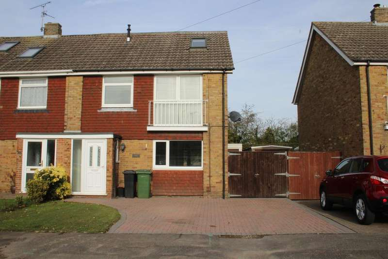 4 Bedrooms Semi Detached House for sale in Broomshaw Road, Barming ME16