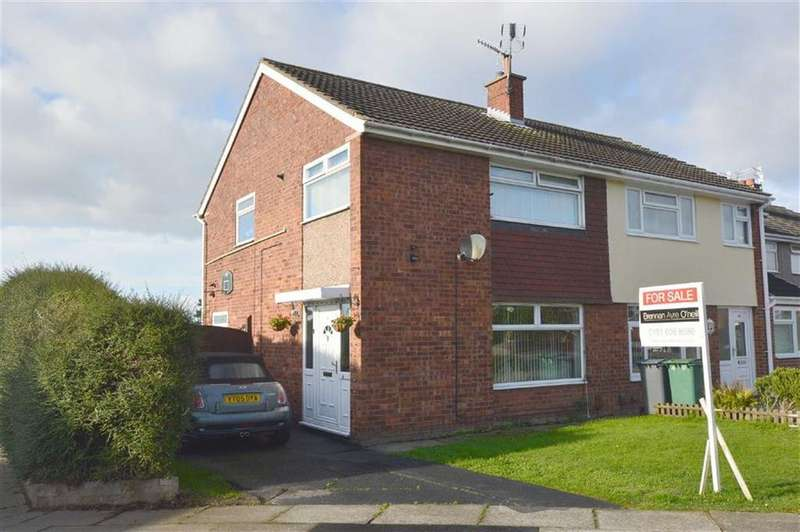 3 Bedrooms Semi Detached House for sale in Churton Avenue, Prenton, CH43