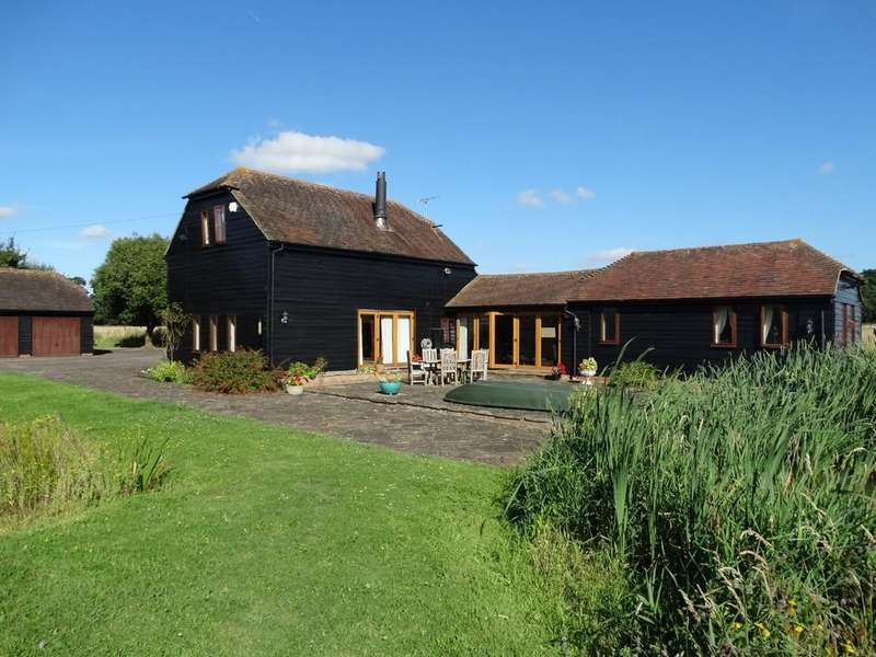 4 Bedrooms Barn Conversion Character Property for sale in Marden, Kent