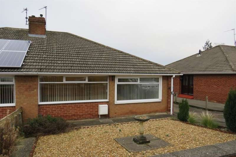 2 Bedrooms Semi Detached Bungalow for sale in Hollywalk Avenue, Middlesbrough, TS6