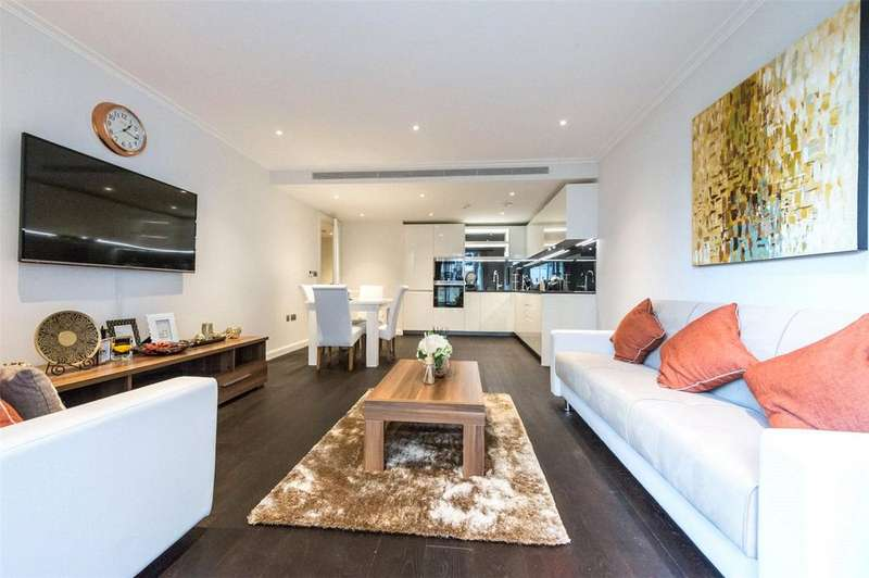 2 Bedrooms Flat for sale in Higham House East, 100 Carnwath Road, London, SW6