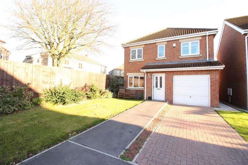 4 Bedrooms Detached House for sale in Beaumont Grange, Seghill, Cramlington