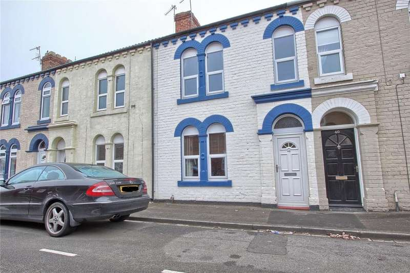 3 Bedrooms Terraced House for sale in Red Lion Street, Redcar
