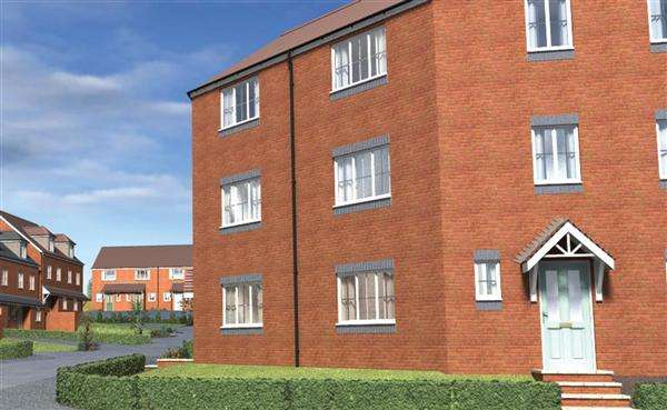 2 Bedrooms Apartment Flat for sale in Tannery Court, 116 Corporation Street, Walsall