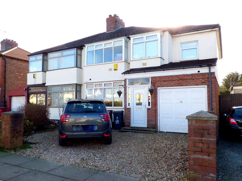3 Bedrooms Semi Detached House for sale in Pilch Lane East, Huyton, Liverpool