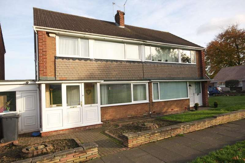 3 Bedrooms Semi Detached House for sale in Ennerdale Place, Garden Farm, Chester-le-Street DH2 3EB