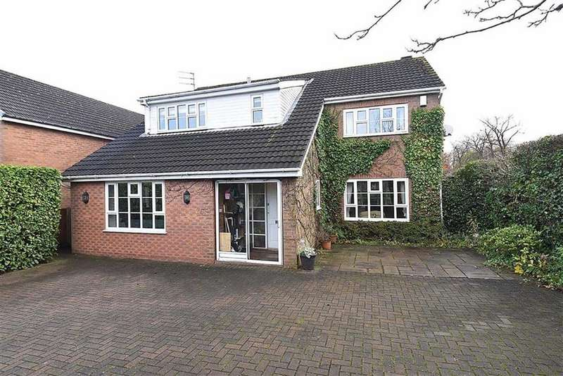 4 Bedrooms Detached House for sale in Roxburgh Close, Macclesfield