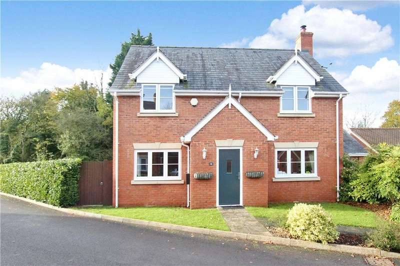 4 Bedrooms Detached House for sale in Old School Close, Cradley, Malvern, WR13