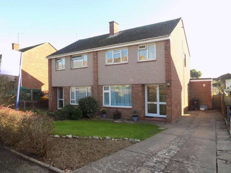 3 Bedrooms Semi Detached House for sale in Greenpark Road, Exmouth