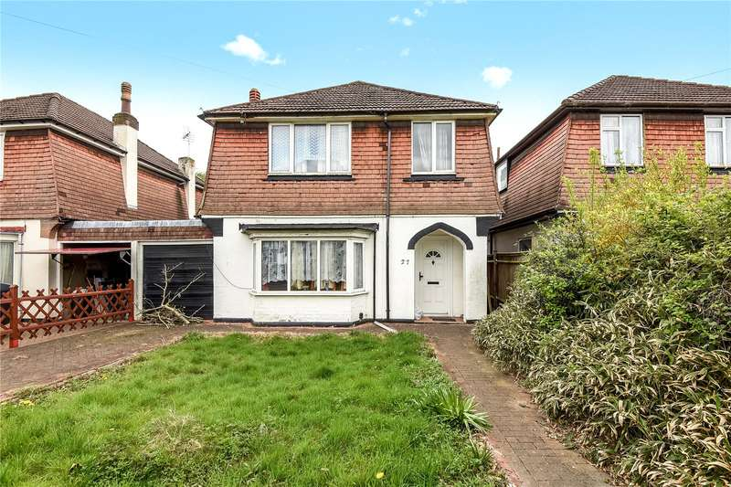 3 Bedrooms Detached House for sale in Tudor Way, North Hillingdon, Middlesex, UB10