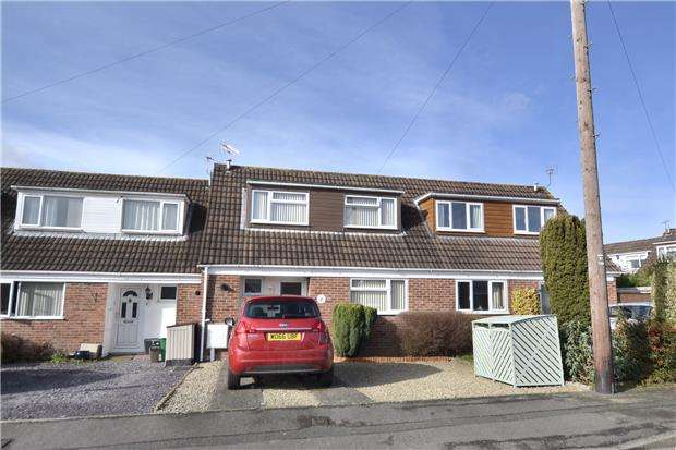 3 Bedrooms Terraced House for sale in The Holly Grove, Quedgeley, GLOUCESTER, GL2 4UU
