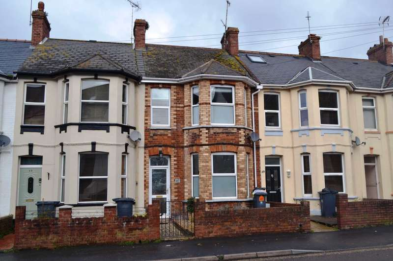 3 Bedrooms Terraced House for sale in Withycombe Road, Exmouth