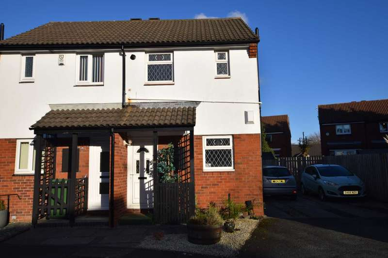 2 Bedrooms Semi Detached House for sale in Shewell Close, Tranmere