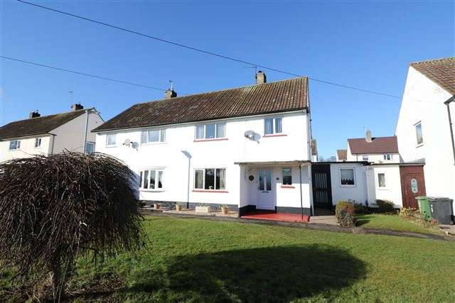3 Bedrooms Semi Detached House for sale in Hadrians Gardens, Carlisle, Cumbria, CA3 0JJ