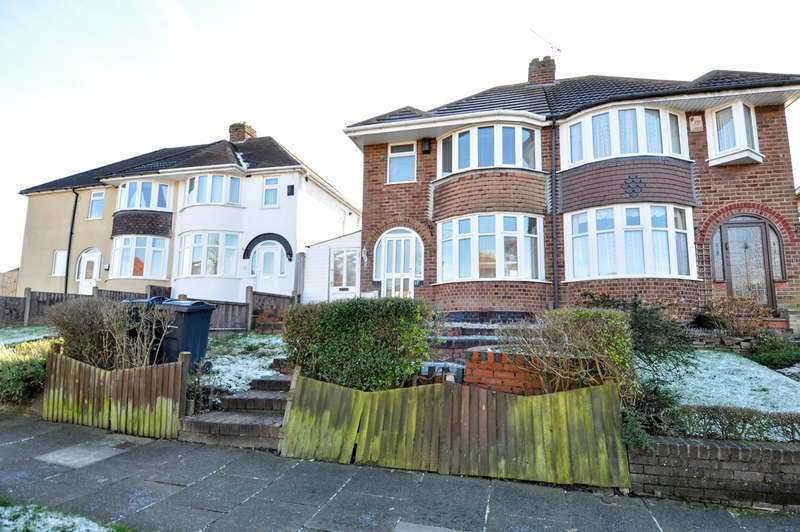 3 Bedrooms Semi Detached House for sale in Lindsworth Road, Kings Norton, Birmingham, B30