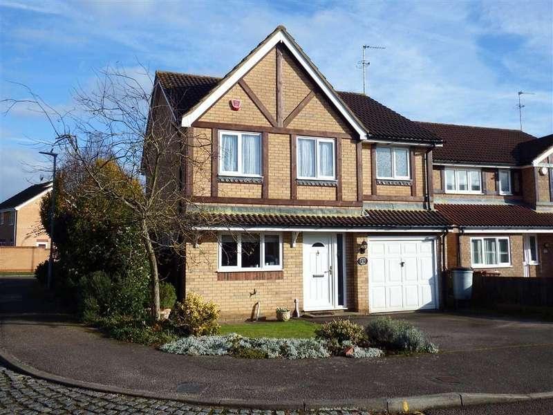 4 Bedrooms Detached House for sale in Minerva Close, Stevenage, Hertfordshire, SG2