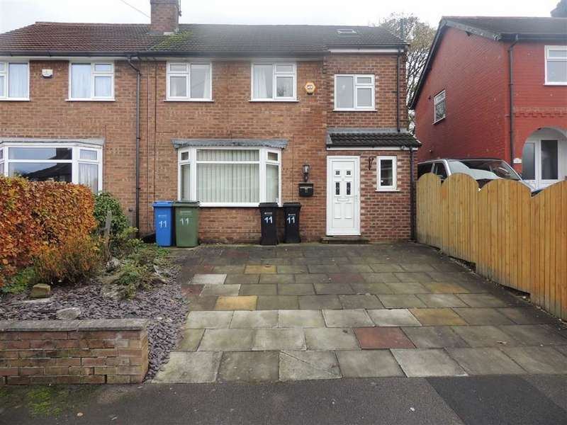 3 Bedrooms Semi Detached House for sale in Garthland Road, Hazel Grove, Stockport