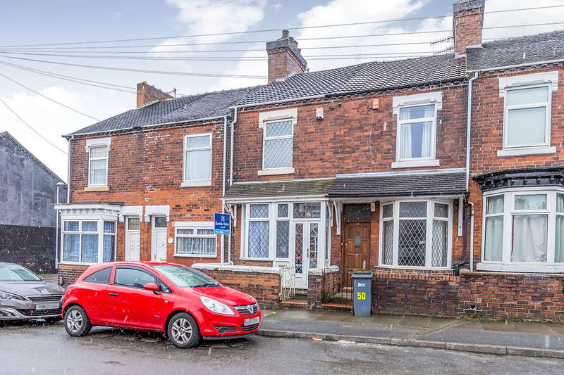 2 Bedrooms Terraced House for sale in Warrington Road, Stoke-On-Trent, ST1