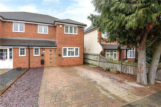 4 Bedrooms Semi Detached House for sale in Clewer Hill Road, Windsor, Berkshire