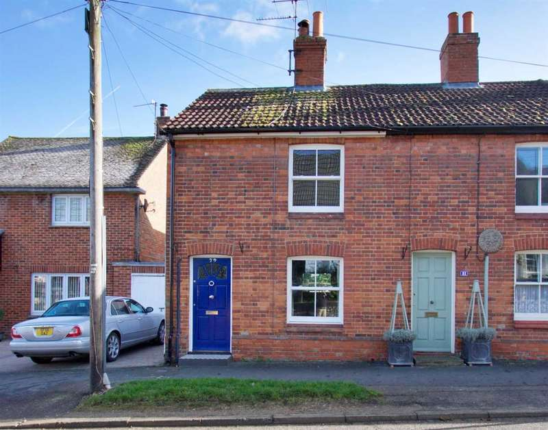 2 Bedrooms End Of Terrace House for sale in Character Cottage with Parking