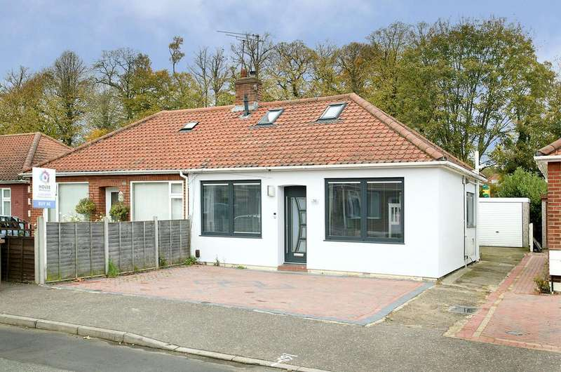 3 Bedrooms Chalet House for sale in Caston Road, Norwich