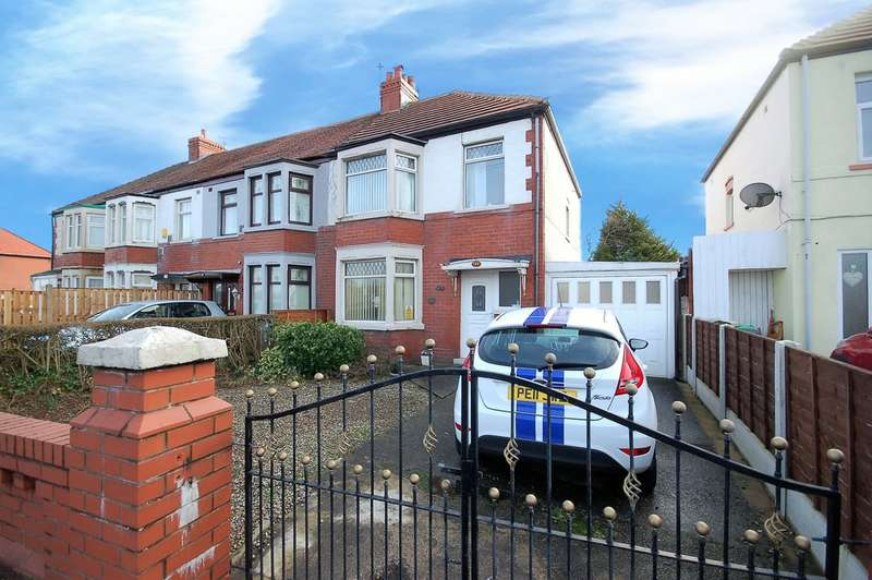 3 Bedrooms End Of Terrace House for sale in Squires Gate Lane, Blackpool