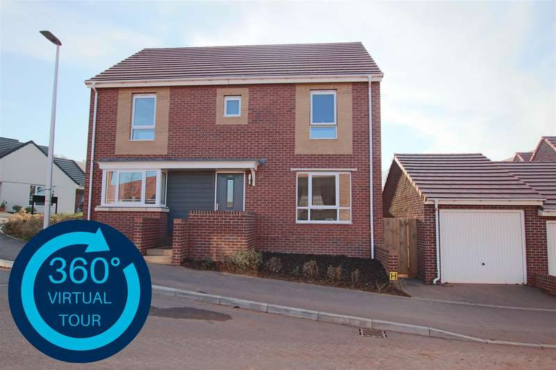 4 Bedrooms Detached House for sale in Staddle Stone Road, Pinhoe, Exeter