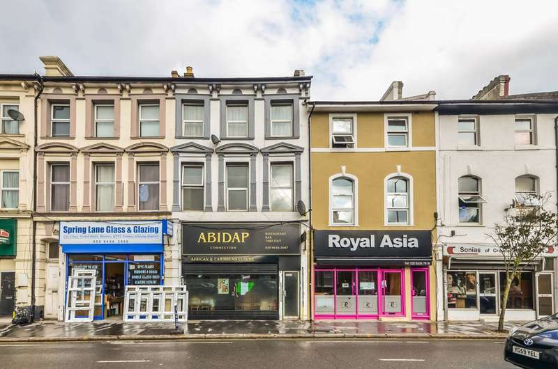 1 Bedroom Flat for sale in Lower Addiscombe Road, Croydon, CR0