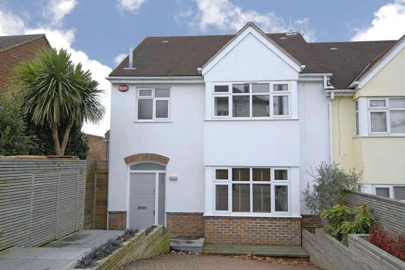 4 Bedrooms Semi Detached House for sale in Ringmore View Honor Oak Park