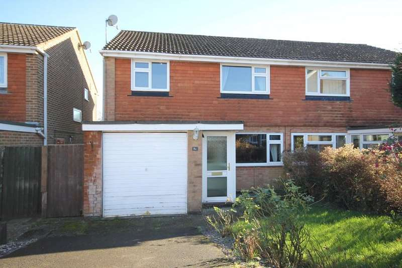 3 Bedrooms Semi Detached House for sale in Trenches Road, Crowborough