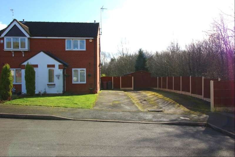 2 Bedrooms Semi Detached House for sale in Birchen Holme, South Normanton, Alfreton, DE55