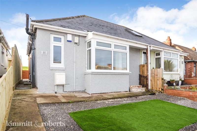 2 Bedrooms Semi Detached Bungalow for sale in Hardwick Street, Blackhall, Hartlepool, TS27