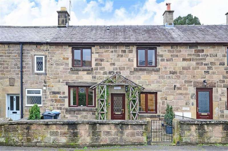 3 Bedrooms Terraced House for sale in 4 Brookside Cottages, Chesterfield Road, Two Dales, Matlock, Derbyshire, DE4