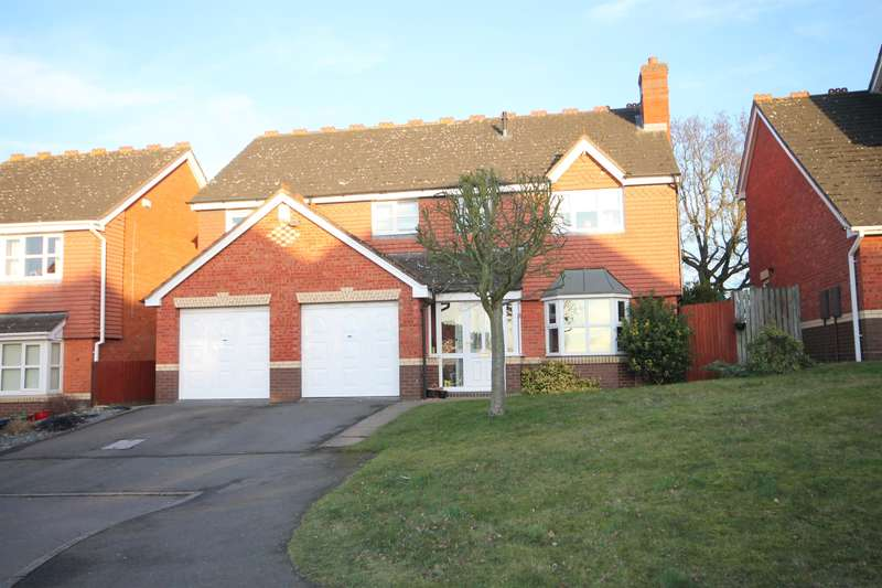 5 Bedrooms Detached House for sale in Middlesmoor, Wilnecote, Tamworth, B77 4PL