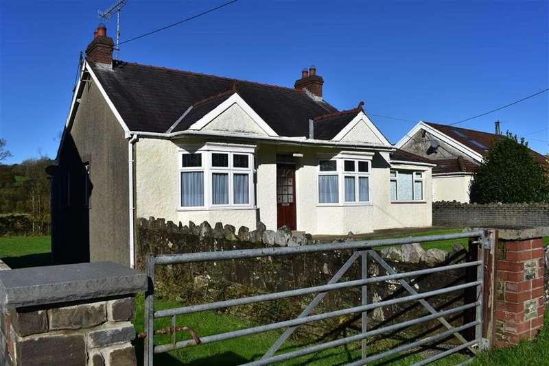 3 Bedrooms Detached Bungalow for sale in Rhyddwen Road, Craig-Cefn-Parc