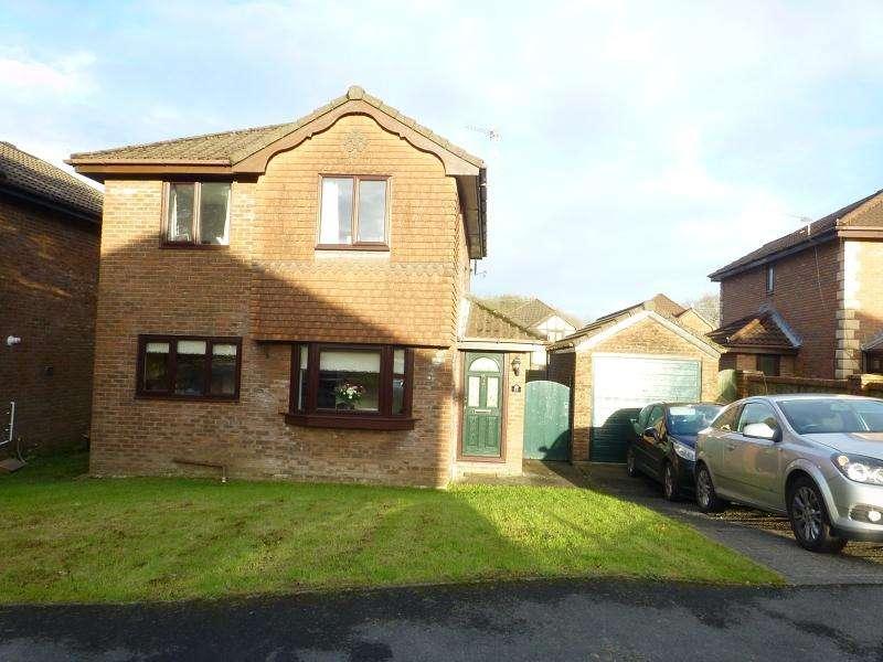 3 Bedrooms Detached House for sale in Parc Bryn Rhos Glanamman, Ammanford, Carmarthenshire.