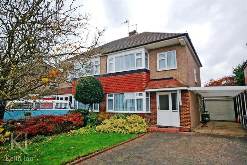 3 Bedrooms Semi Detached House for sale in Cozens Road, Ware
