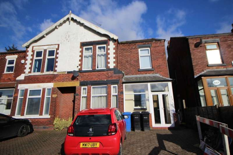 4 Bedrooms Semi Detached House for sale in Manchester Road, STOCKPORT, SK4