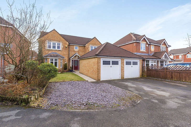 4 Bedrooms Detached House for sale in Morley Croft, Farington Moss, Leyland, PR26